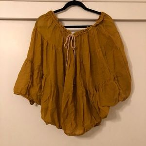 Oversized Free People Top